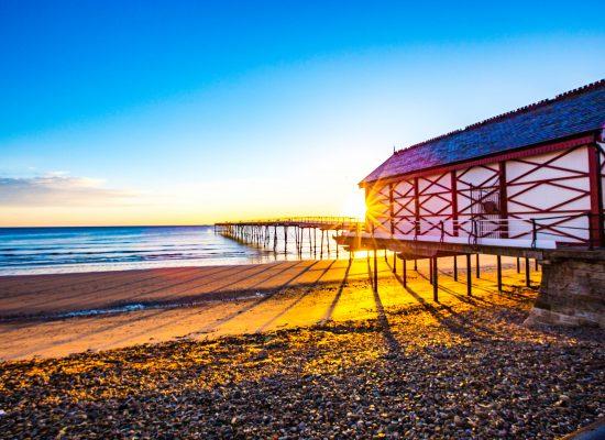 Sunrise at Saltburn Pier