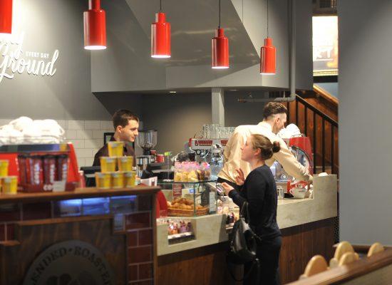 Costa coffee shop, Middleton Grange shopping centre, Hartlepool.